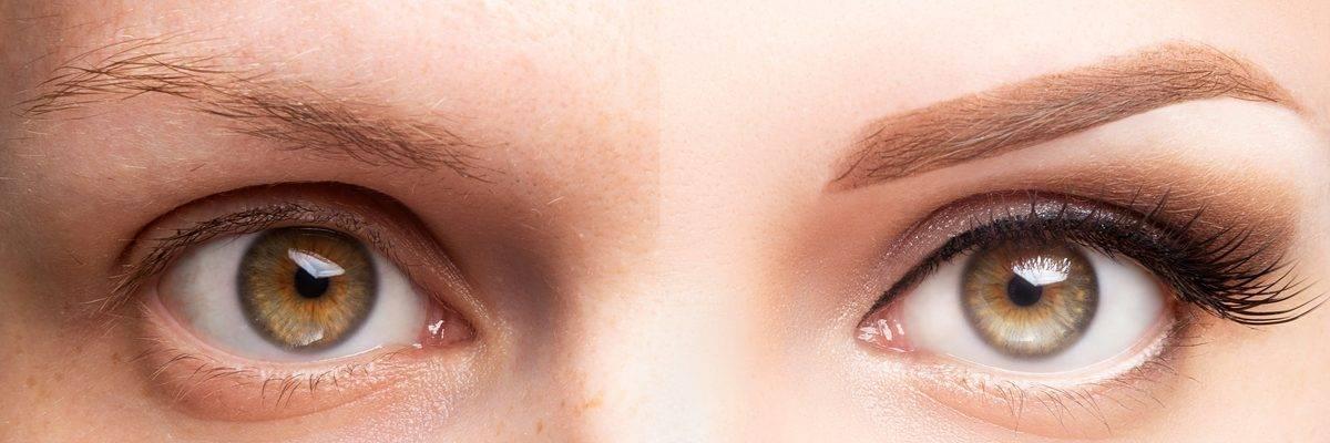Laminazione ciglia e microblading sopracciglia come averne cura per un viso al top