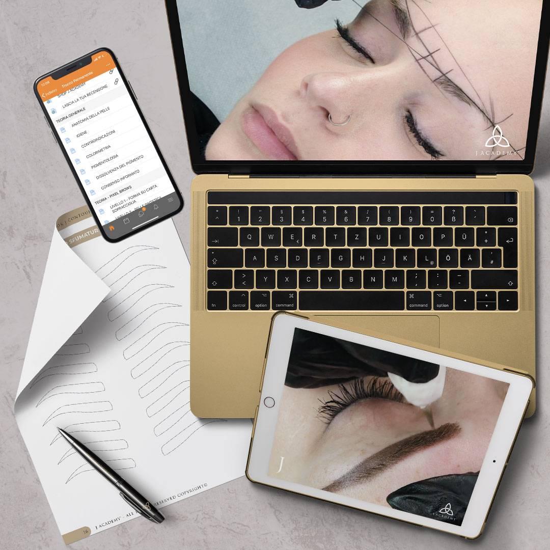 accademia online pixel