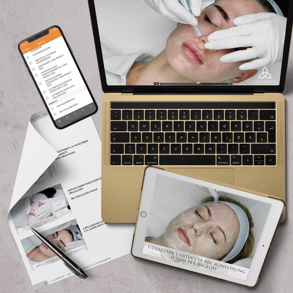 corso online skincare